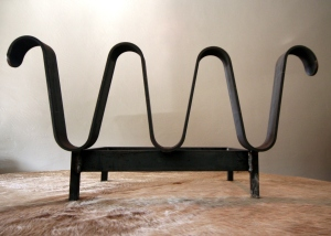 Jean Royere Inspired Andirons