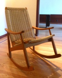 Wegner Rocking Rocker Chair